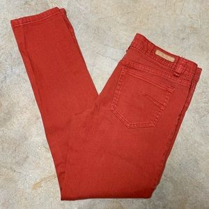 "Rust Skinny Jeans Sanctuary 28"" Inseam Size 27"